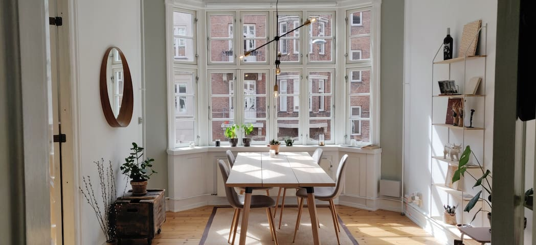 Private Room in Stylish Danish Apartment @Østerbro
