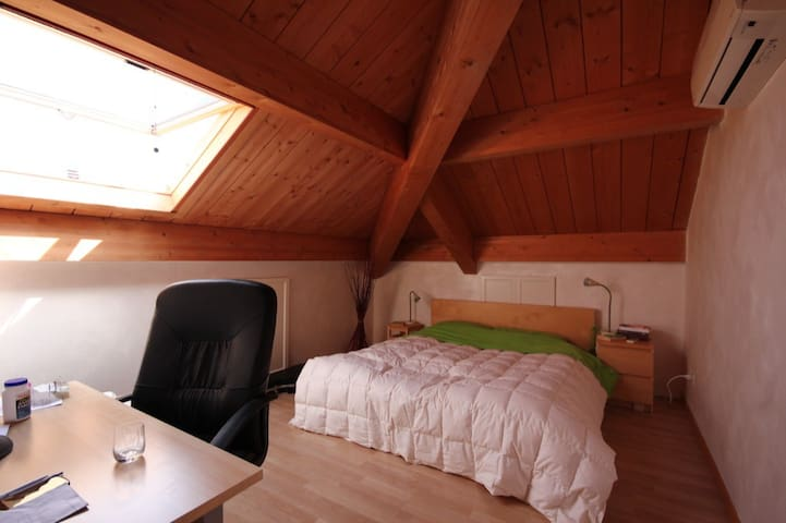 Double room in wonderful attic on hills - Bologna - Bed & Breakfast