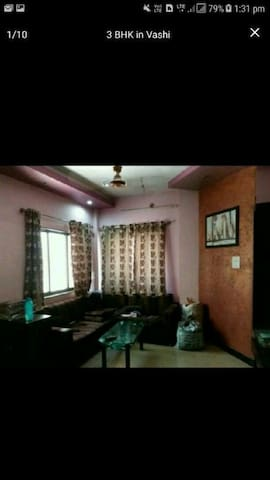 2.5 bhk row house in vashi, navi mumbai