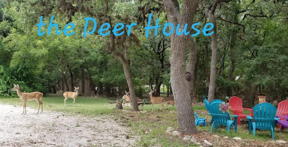 The Deer House at Canyon Lake!