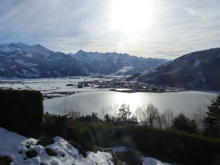 Panoramic view in winter