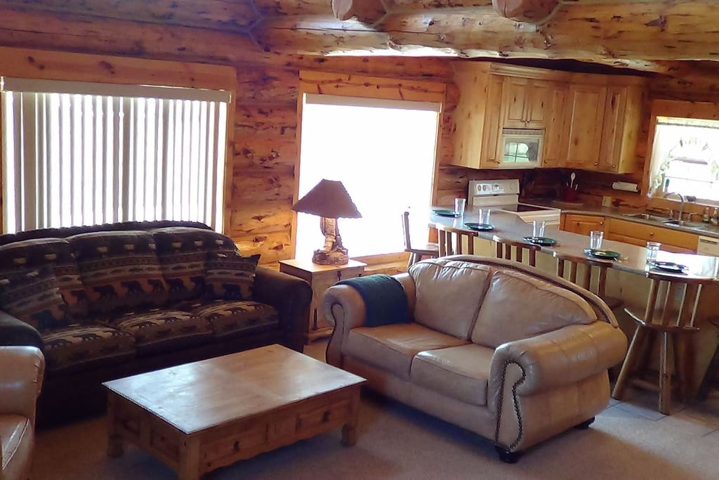 True Log Cabin Overview