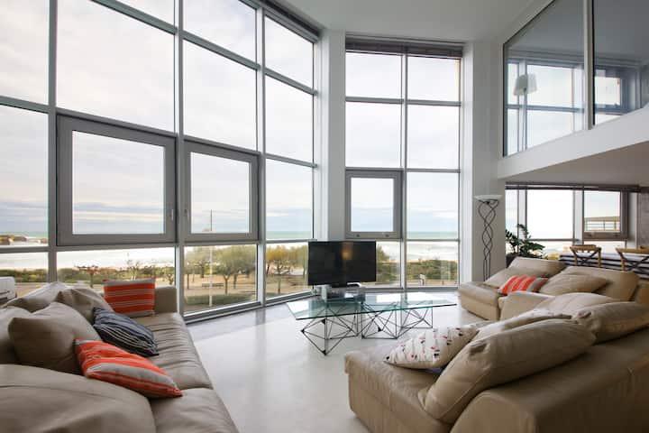 Biarritz Grande plage - duplex exceptionnel