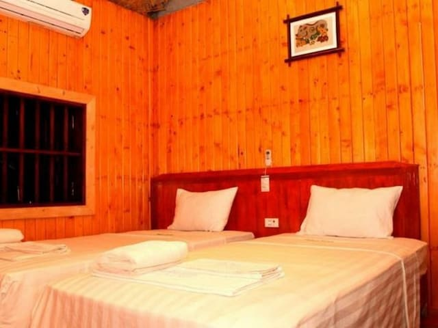 WHISPER NATURE BUNGALOW  triple private bungalow