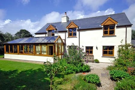 Charming 400 yr old Welsh Cottage. - Llangybi - House