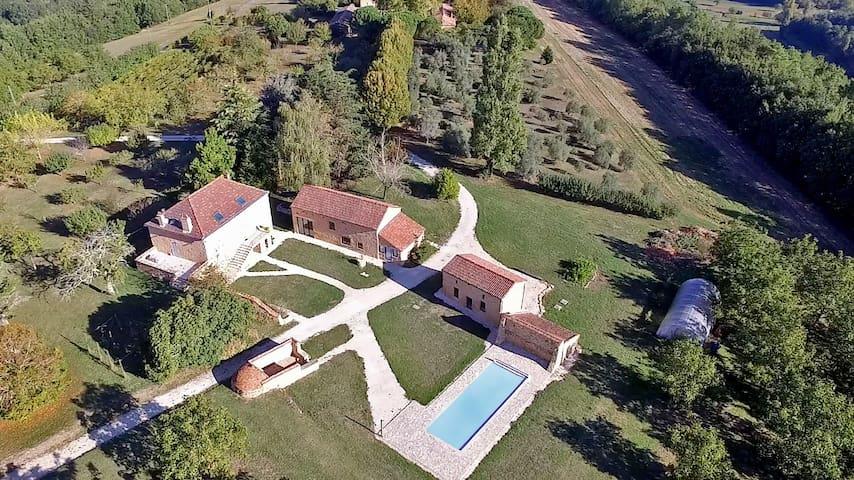 Villa Pech'Mej avec piscine en Périgord Noir