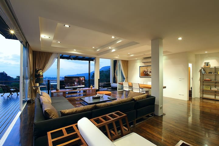 Luxury Sea View Penthouse 2 Bed Kamala Phuket