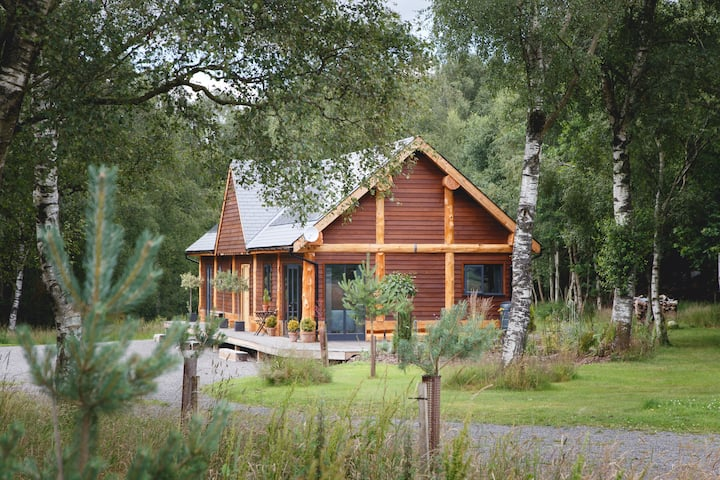 Hopehill Lodge - Luxurious, eco woodland retreat