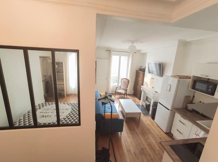 Appartement de charme dans le XVIII ème