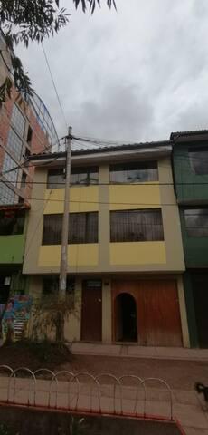 """""""INCA HUASI"""" (Casa del Inca)."""