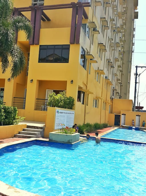 The Pool which is included in the condo amenities