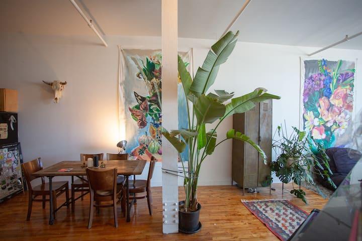 Large loft studio