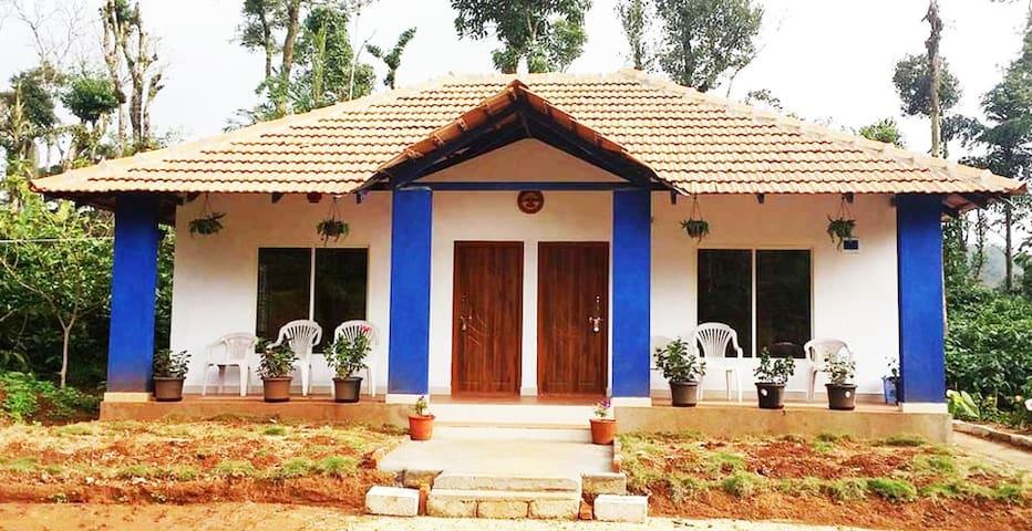 Chirping Home in Sakleshpur, near Pandava Hills