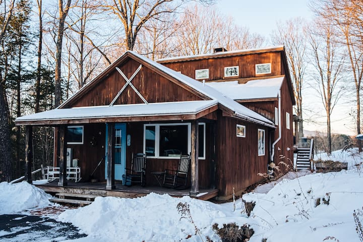Wells Cabin: Escape to the Green Mountains!
