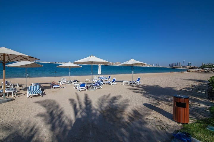 Hot summer offer! 1 BD with free beach Access Palm - 杜拜 - 公寓