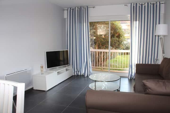T2 47 m² Accès direct plage, classé 3*** de France