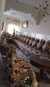 Maison typiquement marocaine et chaleureuse