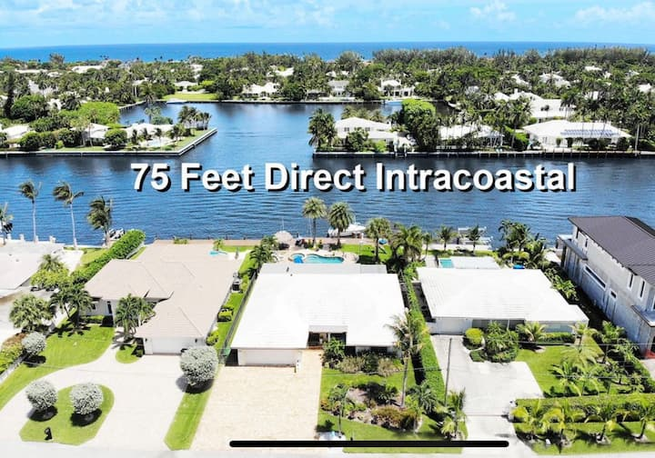 Delray Intracoastal Waterfront with Pool & Dock
