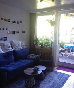 2-Zi.Whng mit ruhigem Balkongarten - Oy-Mittelberg - Wohnung