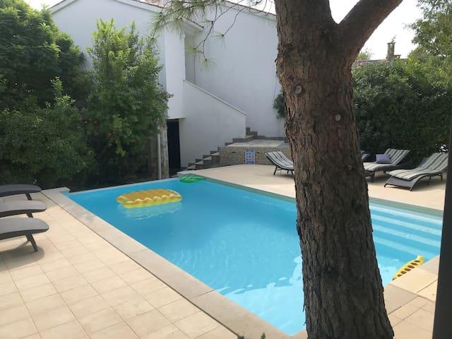 Loft Flat with Pool