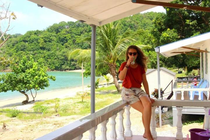Beach Front Wild Pasir Panjang ,PulauTuba Langkawi