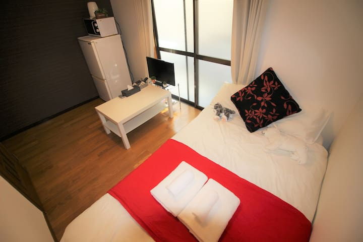 Osaka!Namba! quiet and comfy room★Wifi★202