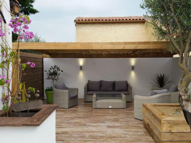 Belle petite maison près des plages