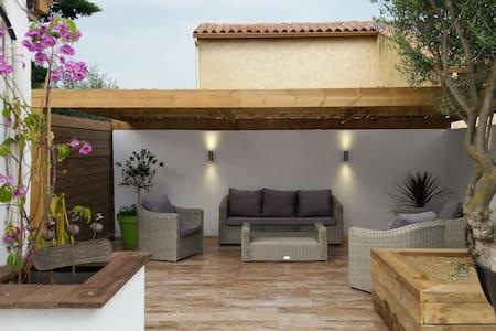 Belle petite maison près des plages - Frontignan