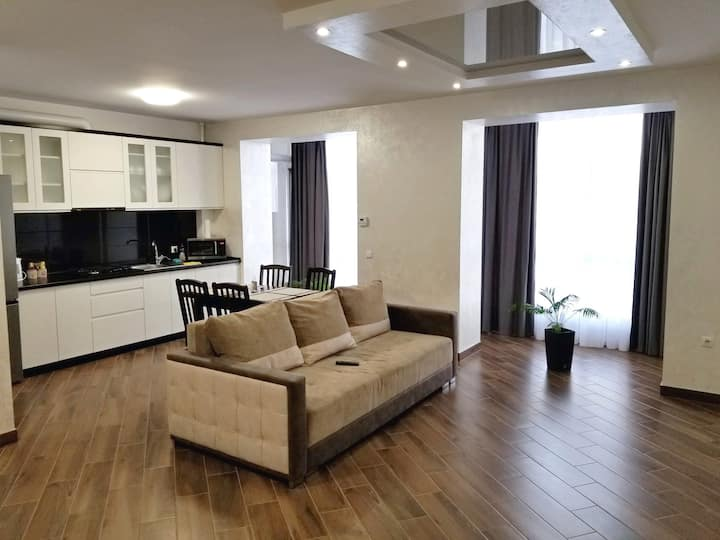 Modern apartment in the city center on Belvedere