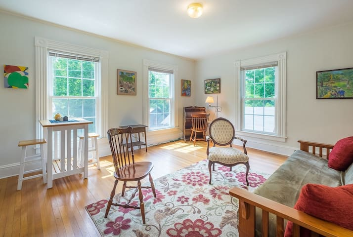 Sunny Updated Apt, in well located Victorian House