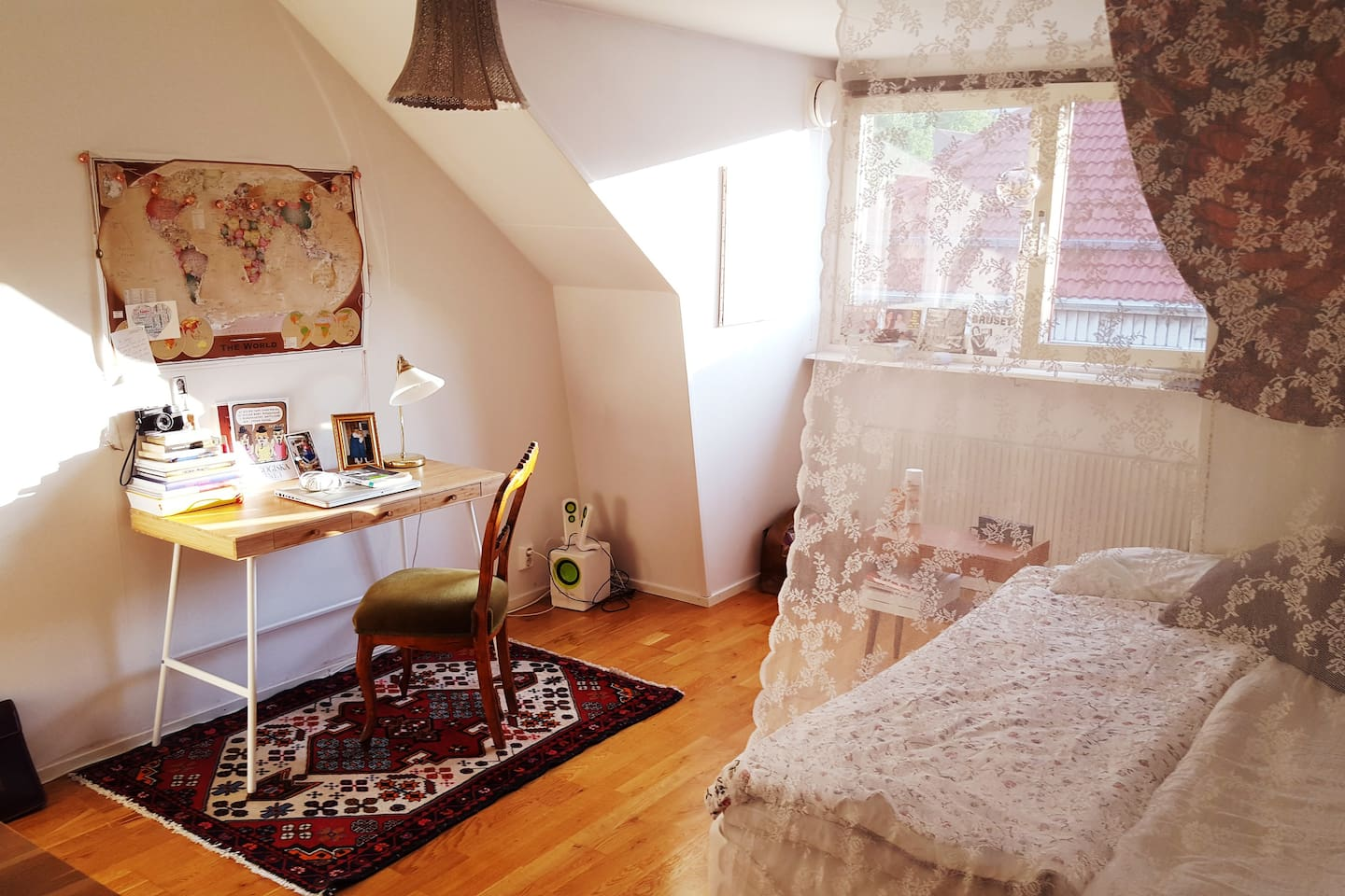 Your large and cozy bedroom