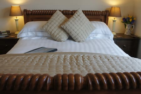 4*B&BEnsuite rm nr Mevagissey Habour with Parking. - Mevagissey - Ev
