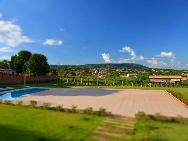 Chácara com vista panorâmica para o Morro Ipanema. - Araçoiaba da Serra - Cottage