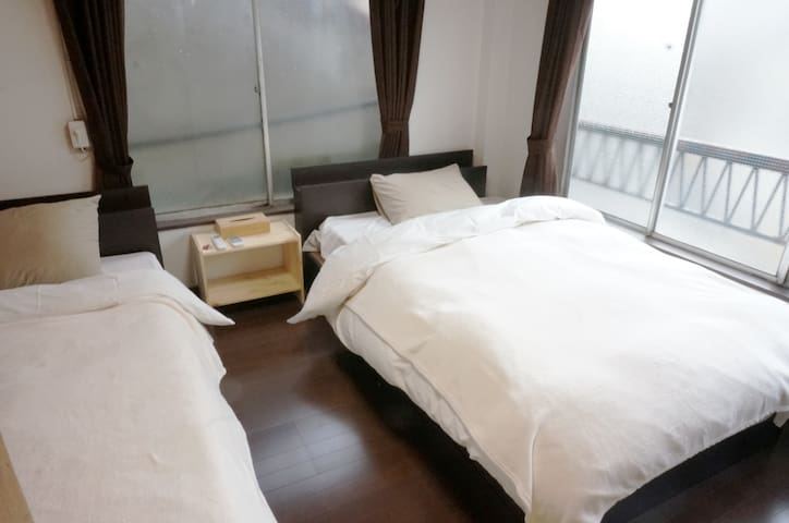【NEW!!】3min ASAKUSABASHI sta! Private Bed Room 2 - Taitō-ku - Hus