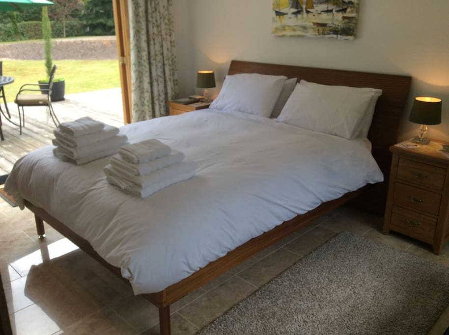 Comfortable King-sized Guest Bed