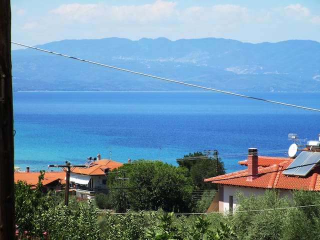 Sea View Apartment Grek Nea 2 - Nea Roda - Appartement