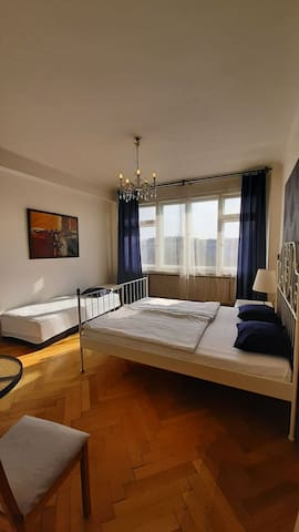 Prague Center Down Town room for 3 people