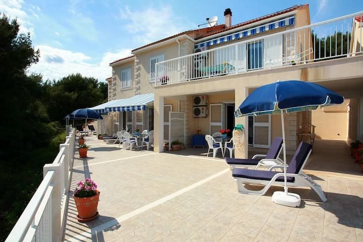 One bedroom apartment with air-conditioning Sumartin, Brač (A-2940-a) - Sumartin