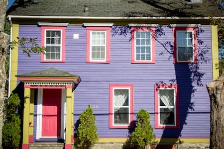 The Bruce House in Shelburne, Nova Scotia