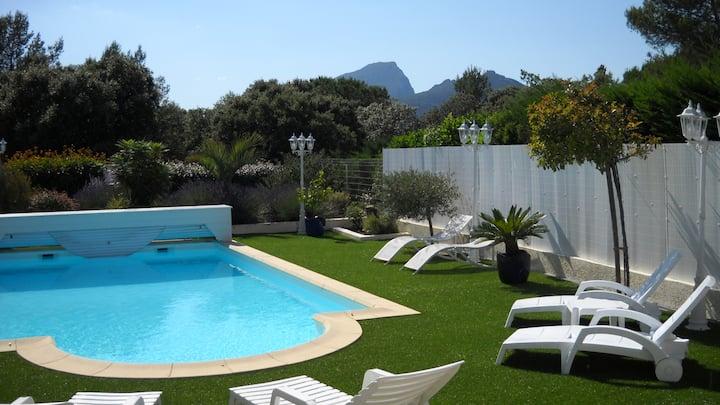 Magnifique villa pour les vacances en famille