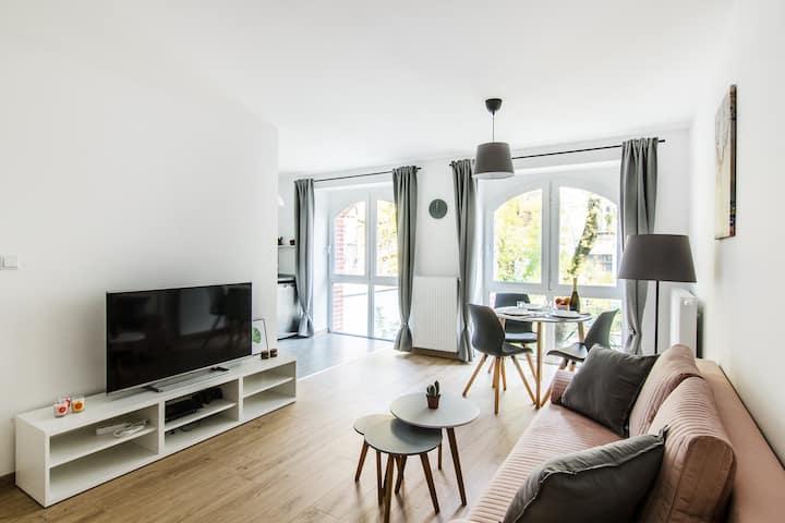 Pearl Apartment- piękny apartament 15 min od Rynku