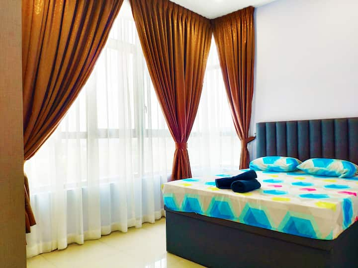 Conezion-Putrajaya, 4 Pax, 5 Mins to IOI City Mall
