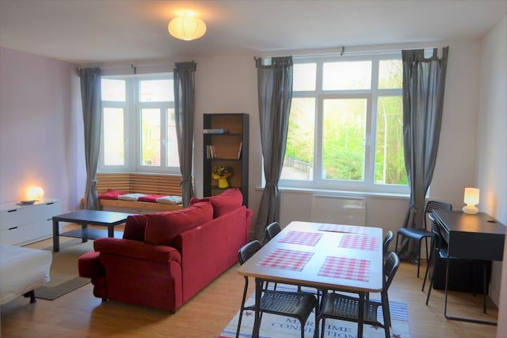"""""""LE PETIT LOFT 2"""" (72m²) m° Mercure, LILLE 15 mn - Tourcoing - Apartment"""