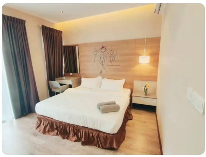 Aeropod Golden Suite Condominium K1-06-1A- 亚庇市区套房