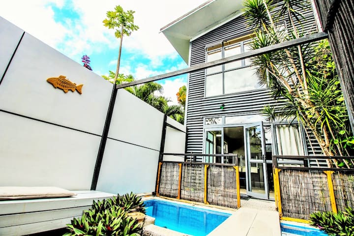 Tropical Townhouse with Pool - Ngatangiia District