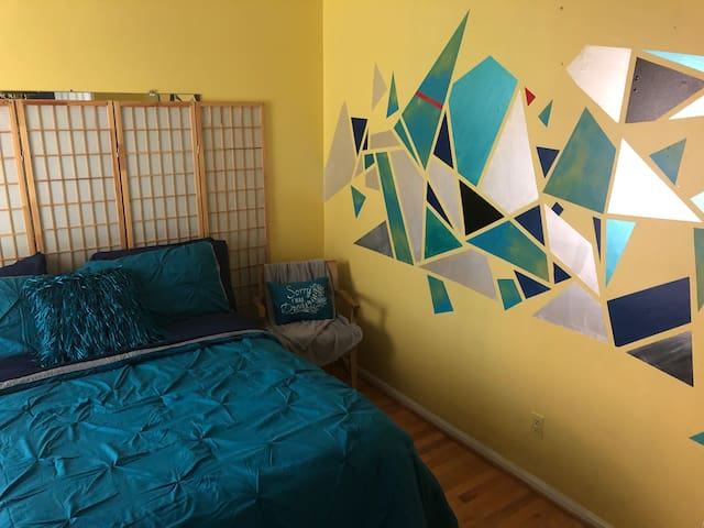 Solara, cozy room just minutes from the metro line