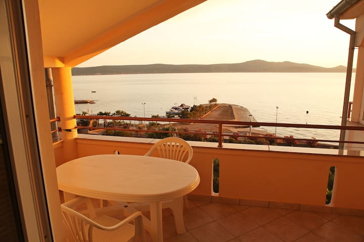 Traditional 1Bedroom Apt with Balcony&Sea View - Sveti Petar na Moru - Lägenhet