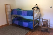 Downstairs bunks