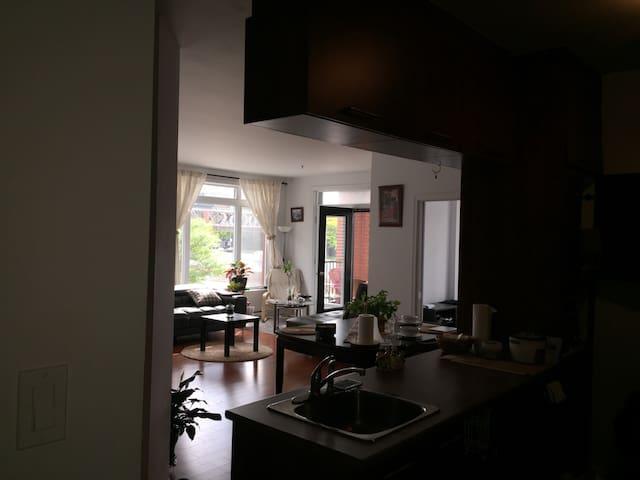 Un appartement très chaleureux - มอนทรีออล - อพาร์ทเมนท์