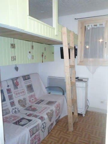 Appartement rénové à la Foux D'Allos pour 5 pers